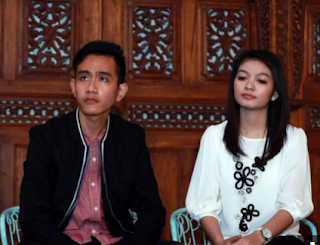 Foto Gibran Rakabuming dan Selvi Ananda Menantu Jokowi
