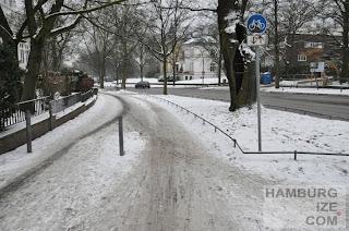 Veloroute 4 - Harvestehuder Weg / Krugkoppel
