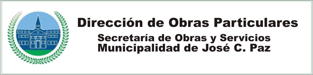 OBRAS PARTICULARES JOSE C. PAZ