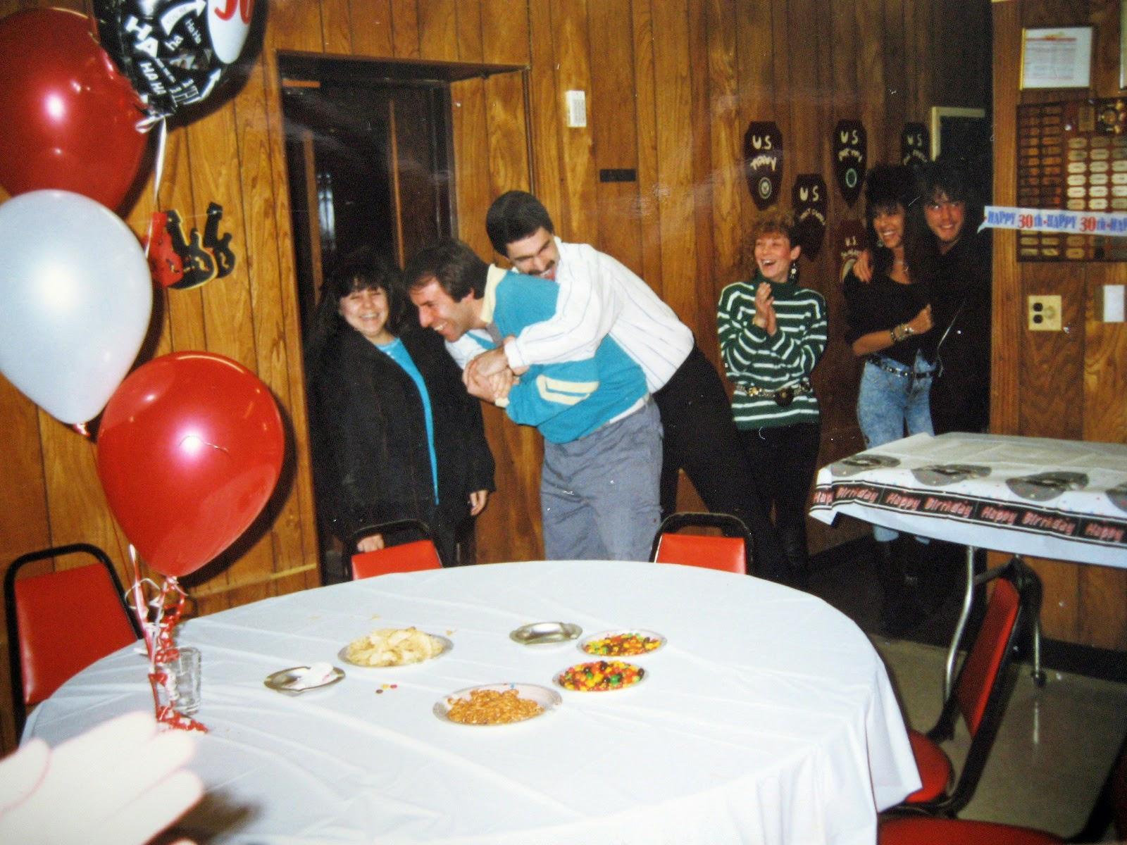 Tommy Mondello's 30th surprise party January 19, 1991