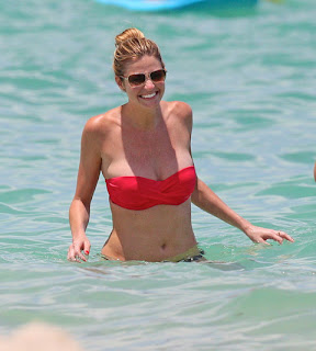 ERIN ANDREWS in water at Miami Beach