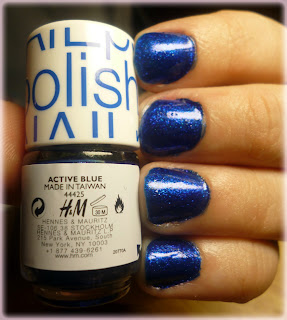 H&M Nail Polish | Active Blue