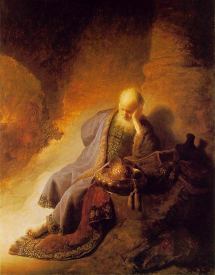 Rembrandt's Jeremiah