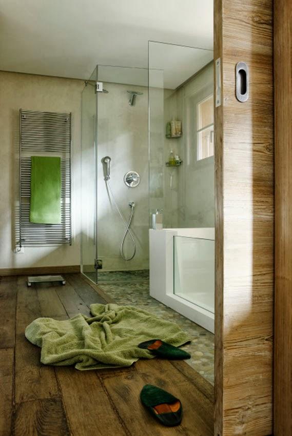 Archilaura home design uno chalet a gstaadt in svizzera - Bagno verde salvia ...