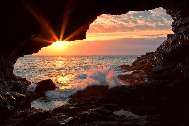 deniz gün batımı