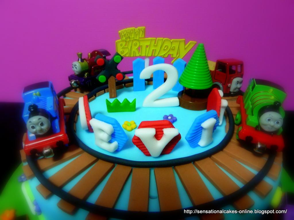 The Sensational Cakes Thomas The Train 3d Train Theme Cake Singapore