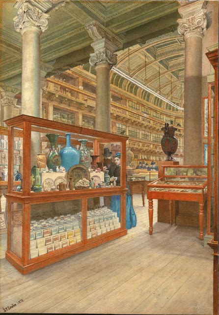 Painting of the Museum of Practical Geology