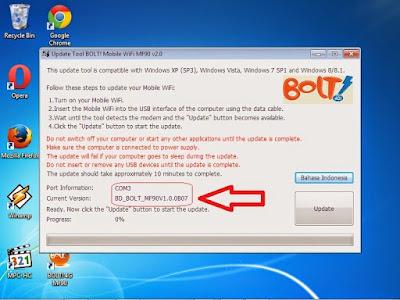 notifikasi port terdeteksi oleh komputer
