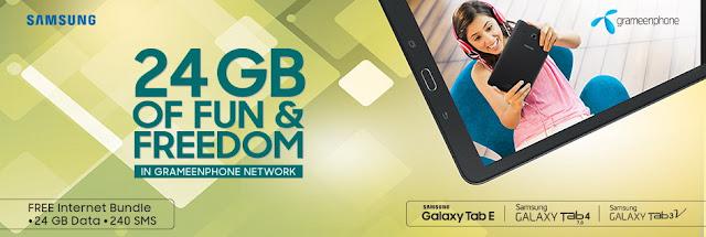 Grameenphone-24GB-Data-Bonus-Samsung-TAB-Attractive-bundle-offer