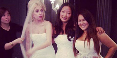 Beredar Foto Wedding Lady Gaga