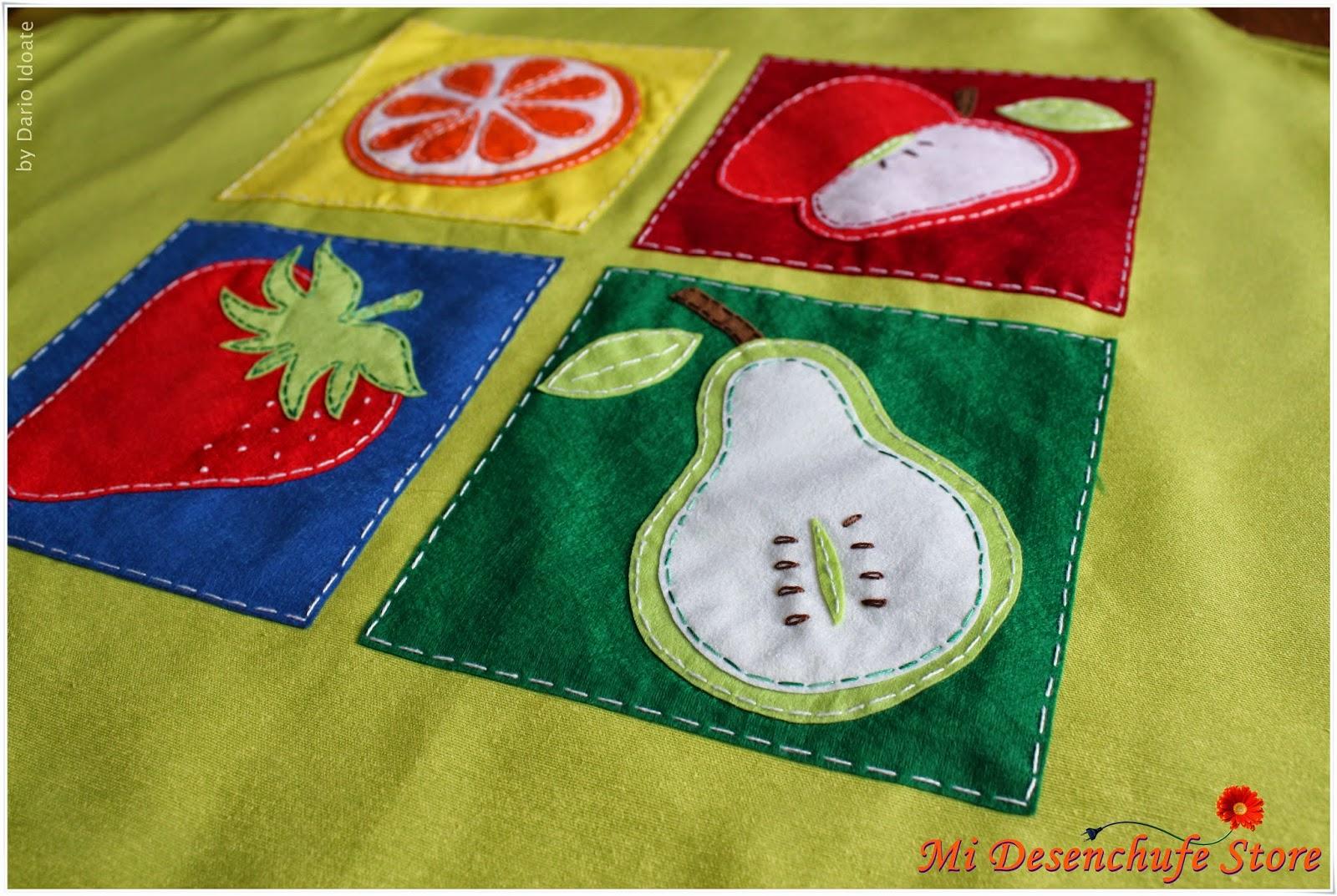 Mi desenchufe store delantal cocina va de frutas - Apliques de cocina ...