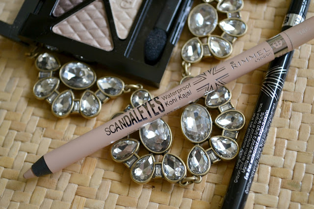 Mommy Testers nude summer makeup trend with Rimmel Scandaleyes liner #cbias
