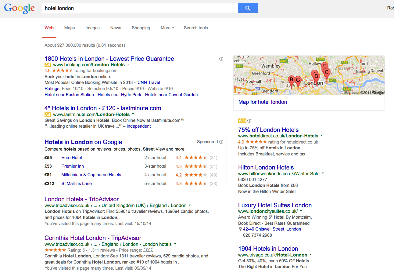 Helphound blog hotels and google the urgent need to re for Google hotes