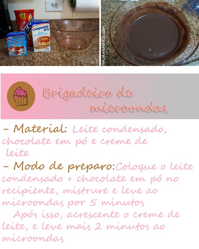 receita ovo de páscoa de colher haja gula chocolate blog haja armário brigadeiro mode de preparo