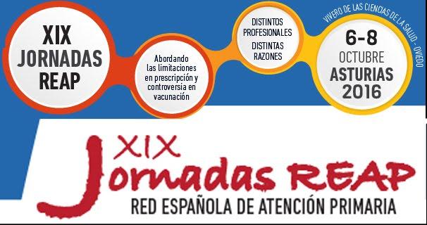 Inscripción y Programa Jornadas REAP 2016