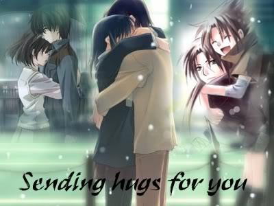 anime couple hugging wallpapers - photo #38