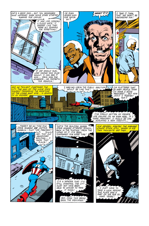 Captain America (1968) Issue #250 #165 - English 14