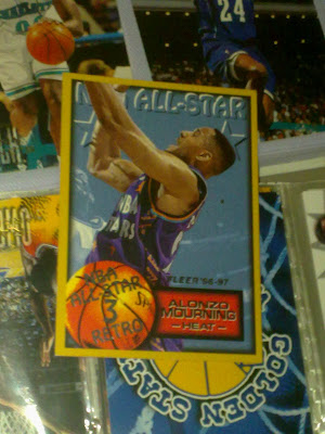 alonzo mourning,nba,charlotte,nba cards,miami,heat