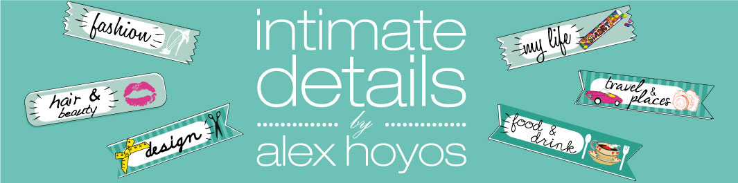 INTIMATE DETAILS by Alex Hoyos