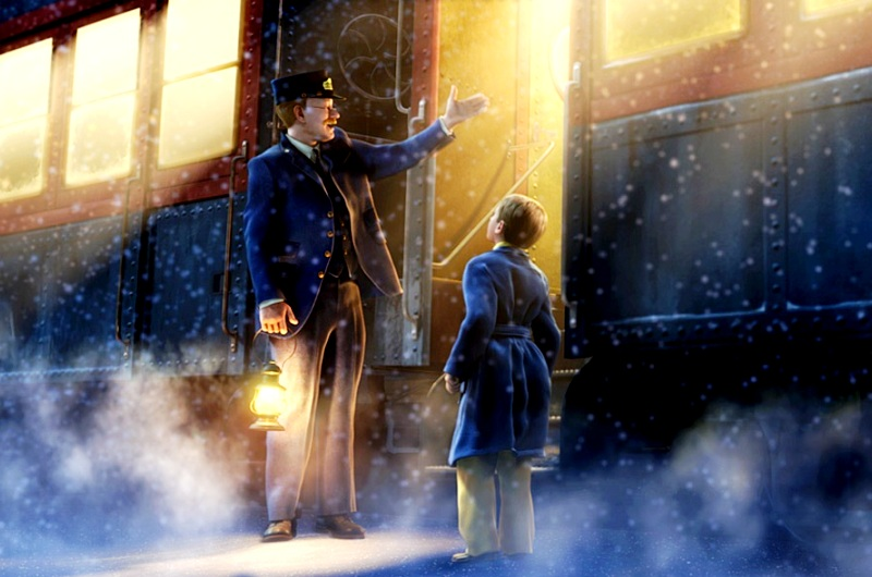 The Polar Express Gambar Kartun 3
