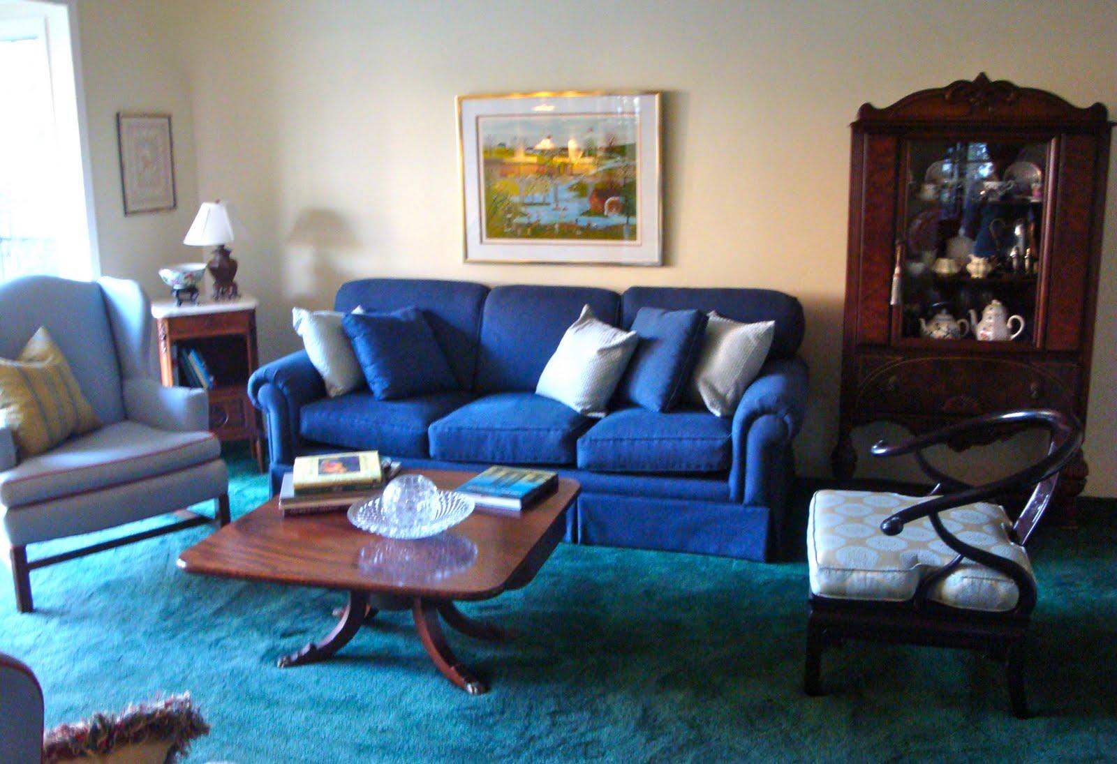 Denim Living Room Furniture – Modern House