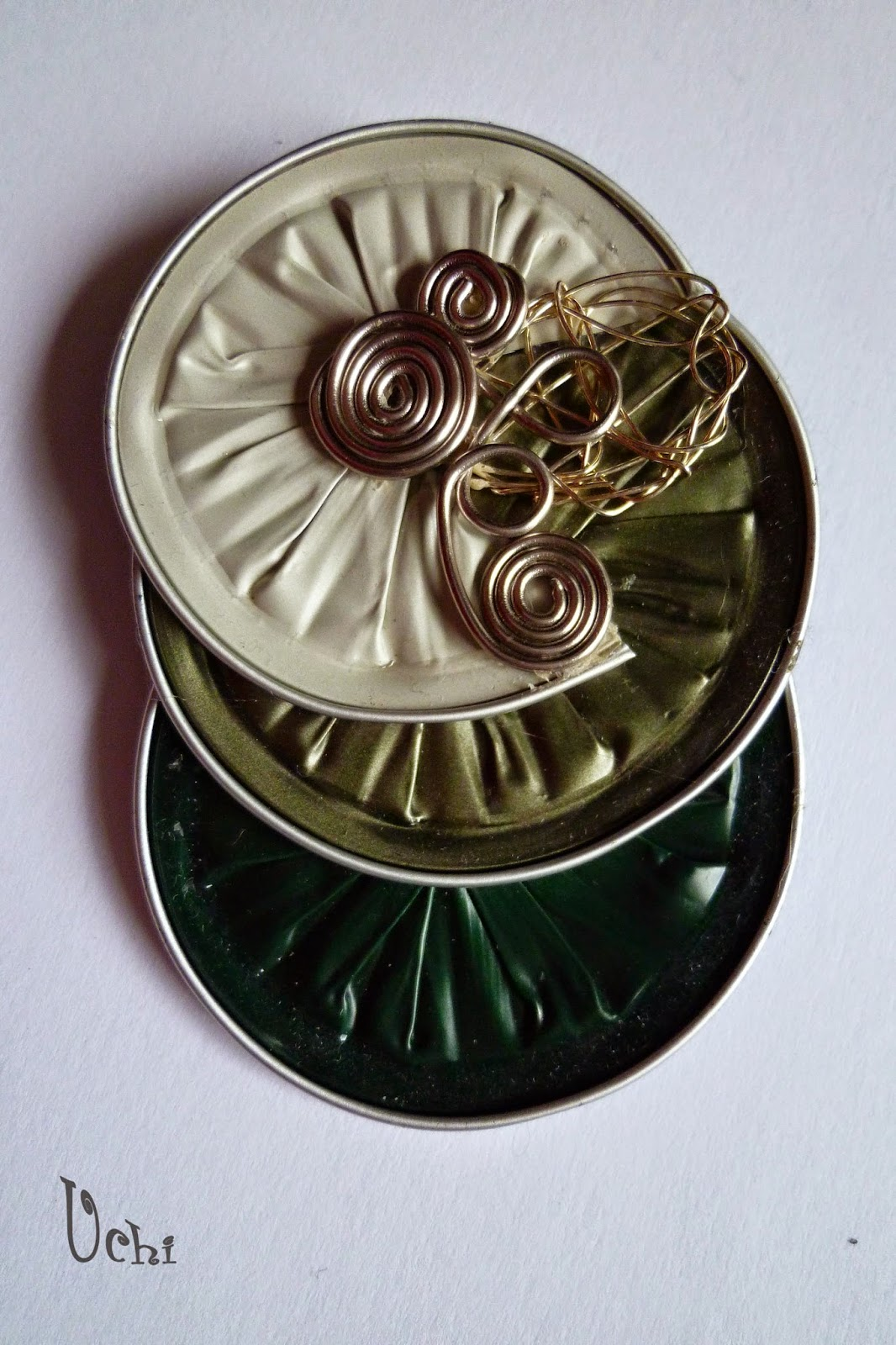 Reciclaje, Nespresso, bisuteria, jewelry, broche, brooch, pin