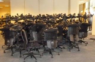 Paris Reprise mobilier professionnel Recyclage mobilier de bureau
