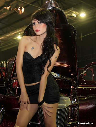 "... Foto Model Seksi Indonesia ""Sexy Black Classic""   Indonesian Hot Model"