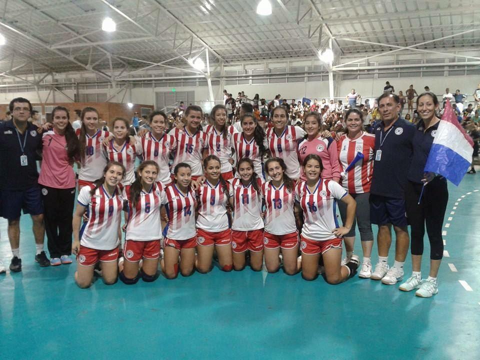 Paraguay campeón sudamericano de cadetas | Mundo Handball