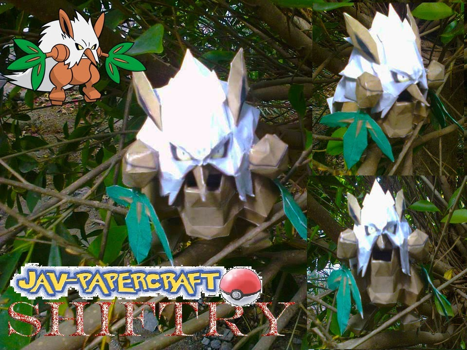Pokemon Shiftry Papercraft