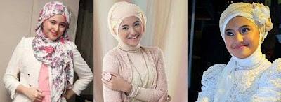 Cara pakai Hijab ala marshanda