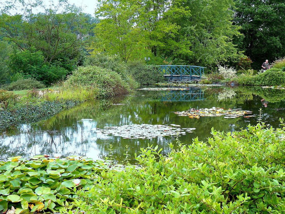 Hortibus voyage jardins prives autour de bordeaux en dordogne et dans le gers - Point d eau dans le jardin ...