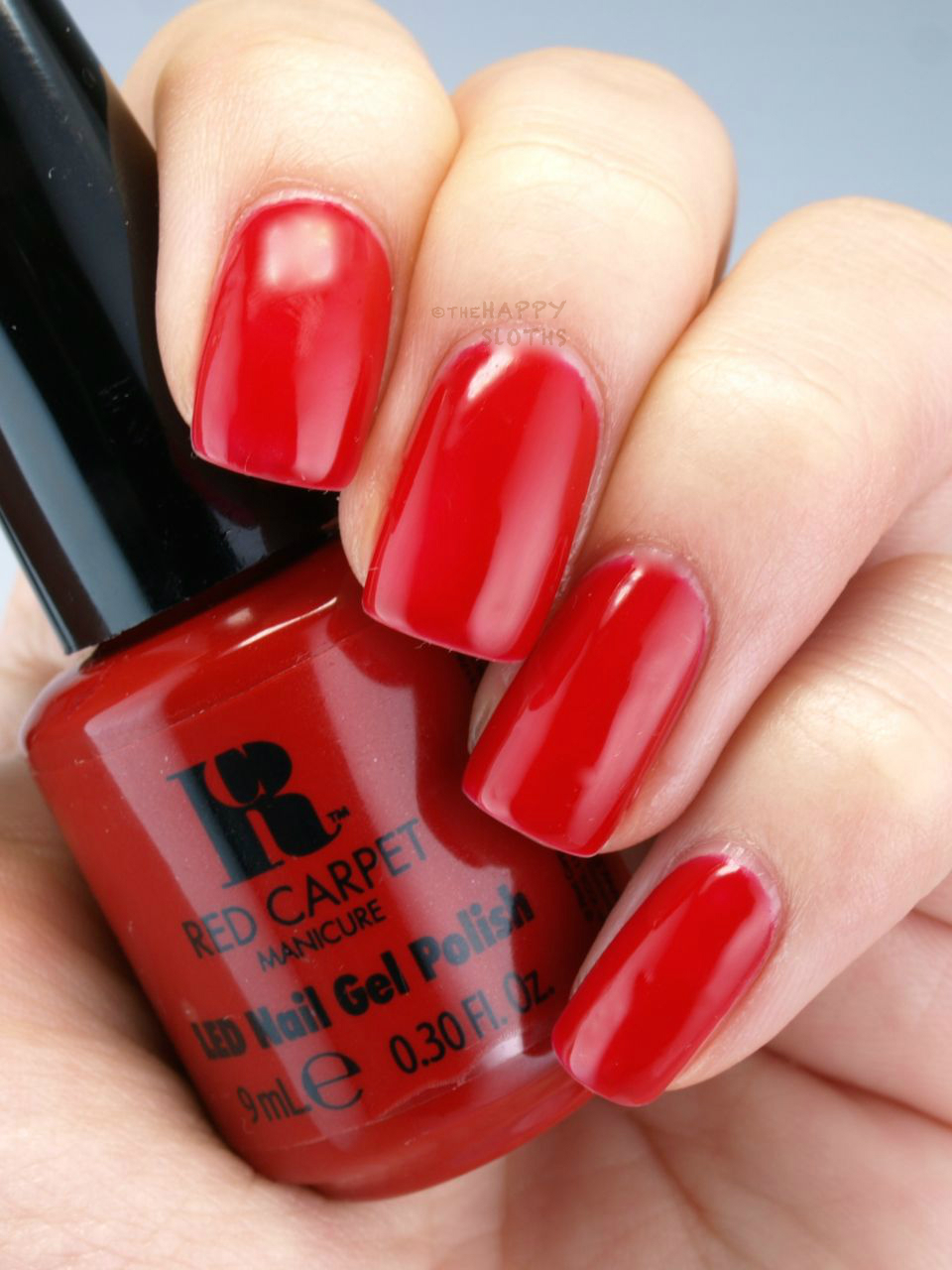Review And Swatches Red Carpet Manicure Led Gel Polish | Rachael ...