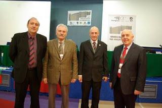 La Commission d'Appel avec Jean-Claude Moingt, Almog Burstein, Gaguik Oganessian et l'arbitre en chef Nedev - Photo © Jean-Claude Moingt