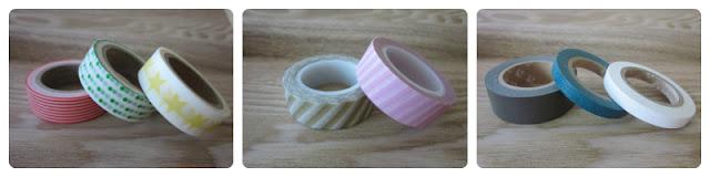 Rollos de washi tape