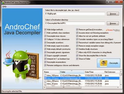 AndroChef Java Decompiler Crack Download Free Full Version