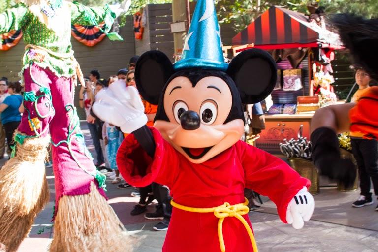 Disneyland Paint Brush Line