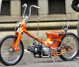 Modifikasi motor Honda Astrea
