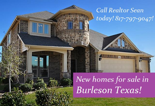 Homes for Sale in Burleson With Sean Evans: New Homes for Sale in Burleson