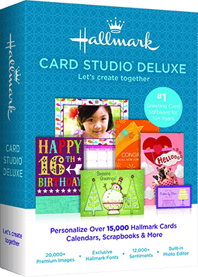 Hallmark Card Studio 2015 Deluxe Full Version