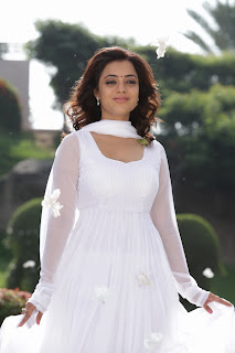 Nisha Agarwal Latest Pictures Gallery in White Sal Kameez 0008.jpg