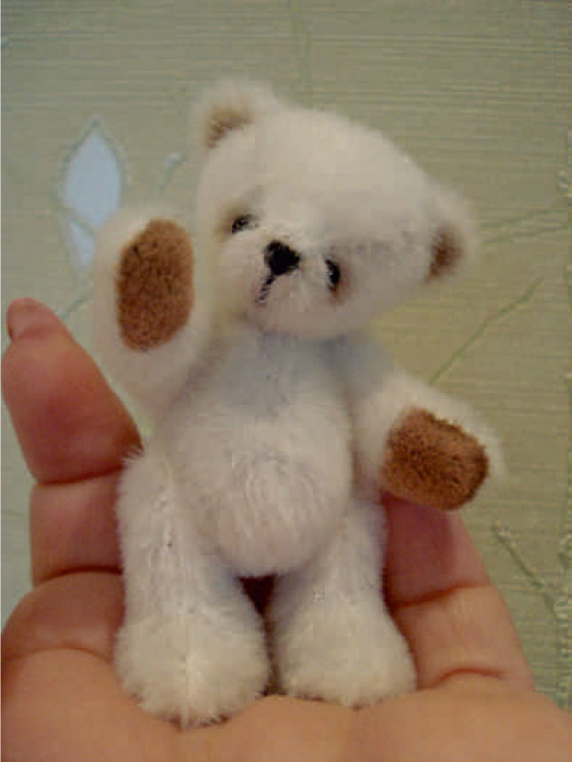 Kids Book With Felt Doll And Teddy Bear