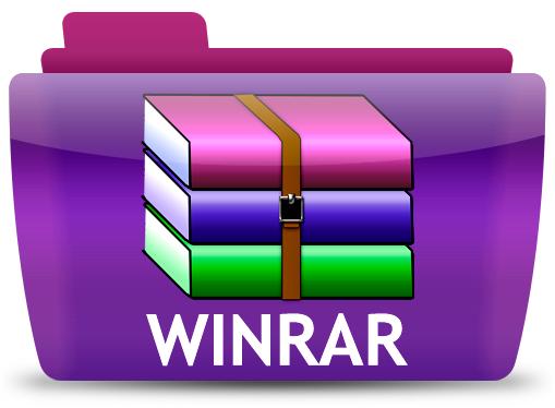 WinRAR 5.21 (32-bit) Free Download Logo