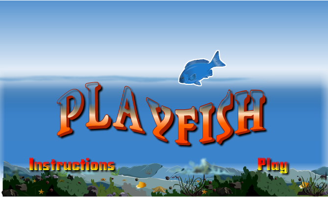 how to play fish game