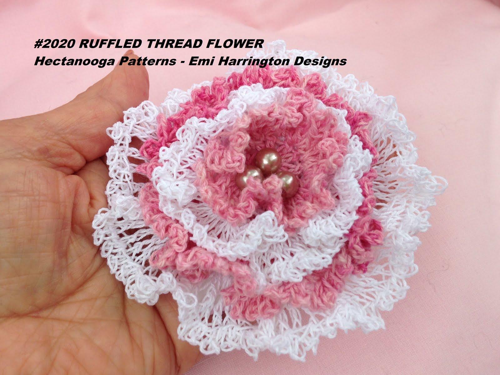 HECTANOOGA PATTERNS: free crochet pattern - RUFFLED ...