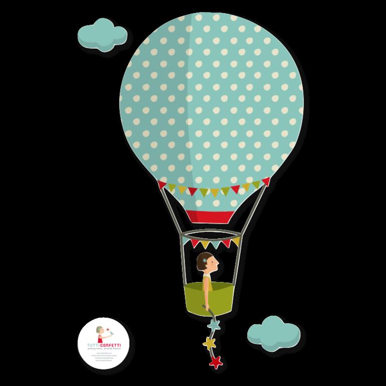Mini aerotrastornados vinilos decorativos de - Globos aerostaticos infantiles ...