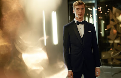 Boss, Hugo Boss, Hugo Boss Holiday, Clément Chabernaud, Navidad 2015, tuxedo, esmoquin, smoking, Suits and Shirts, elegancia, gentleman,