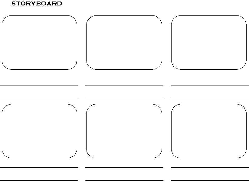 Storyboards Are Your Friends Really Cbsc Making Music Videos