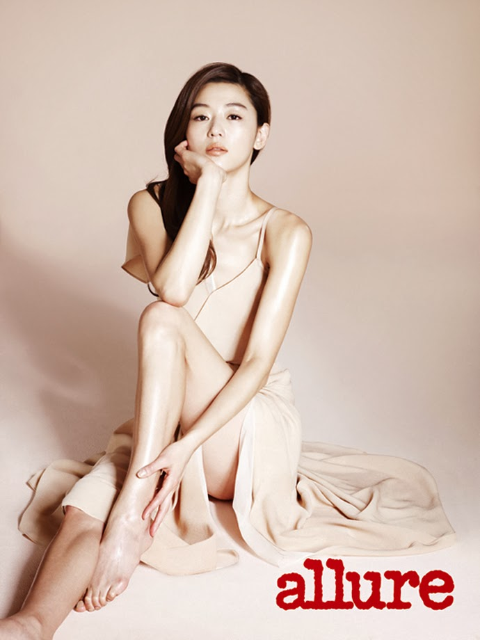 Jeon Ji Hyun - Allure Magazine March Issue 2014