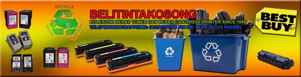 Pusat Pembelian Bekas Toner Cartridge Printer terpercaya Telp: 081291770766 PIN BB: 5E91F352